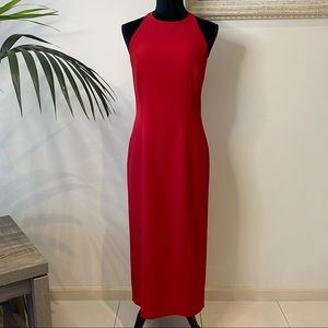 NEXT Collection Formal Bodycon Long Red Dress 10